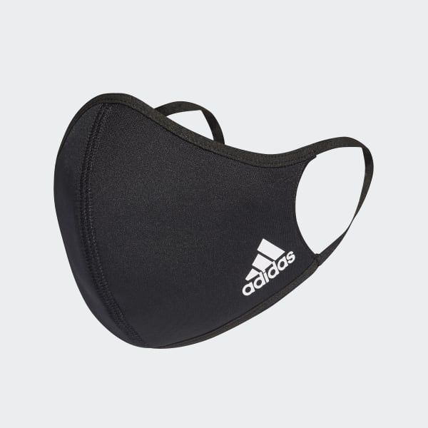 Todas Las Mascarillas Deportivas Face Cover Black Adidas Adidas
