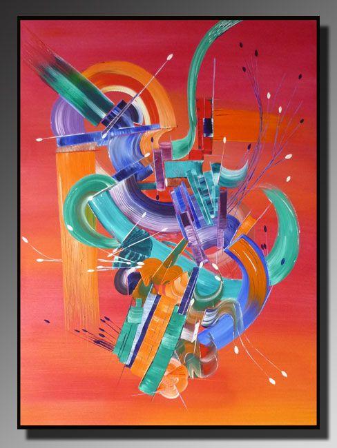 Artwork >> Belfodil Martine >> Abstract painting SPELL #artwork, #masterclass, #art, #contemporary