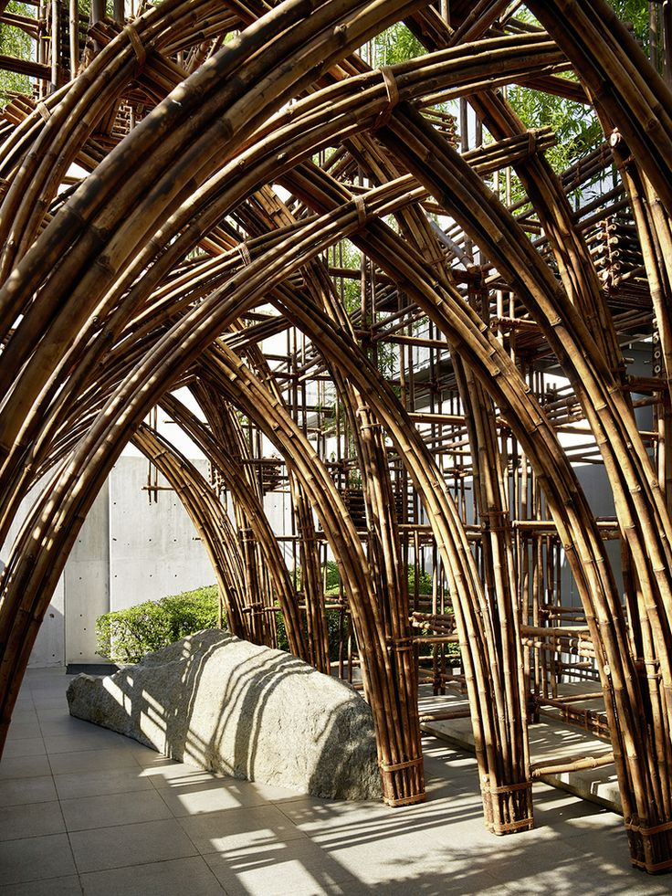 Gallery - Bamboo Forest / Vo Trong Nghia Architects - 6