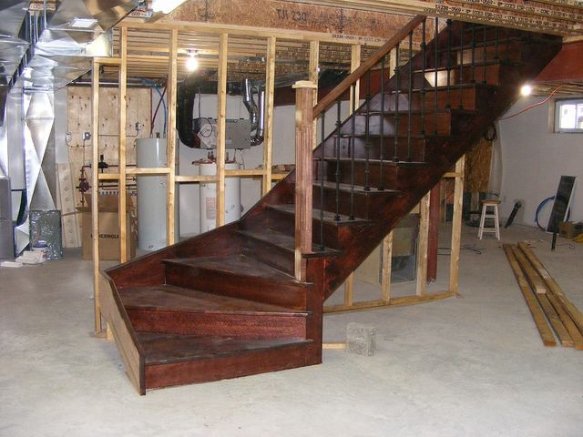 25 Best Ideas About Open Staircase On Pinterest: 25+ Best Ideas About Basement Staircase On Pinterest