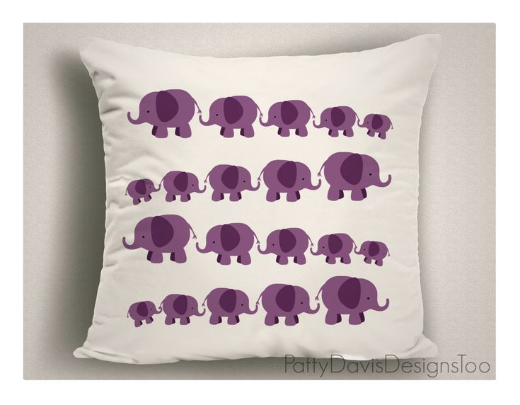 Decorative Throw Pillow Pillows Nursery Child S Room Double Sided