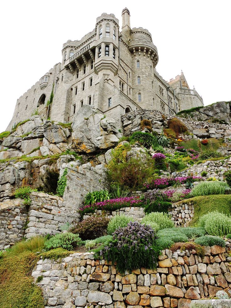 wanderthewood: St. Michael's Mount, Cornwall, England by DanRansley on Flickr