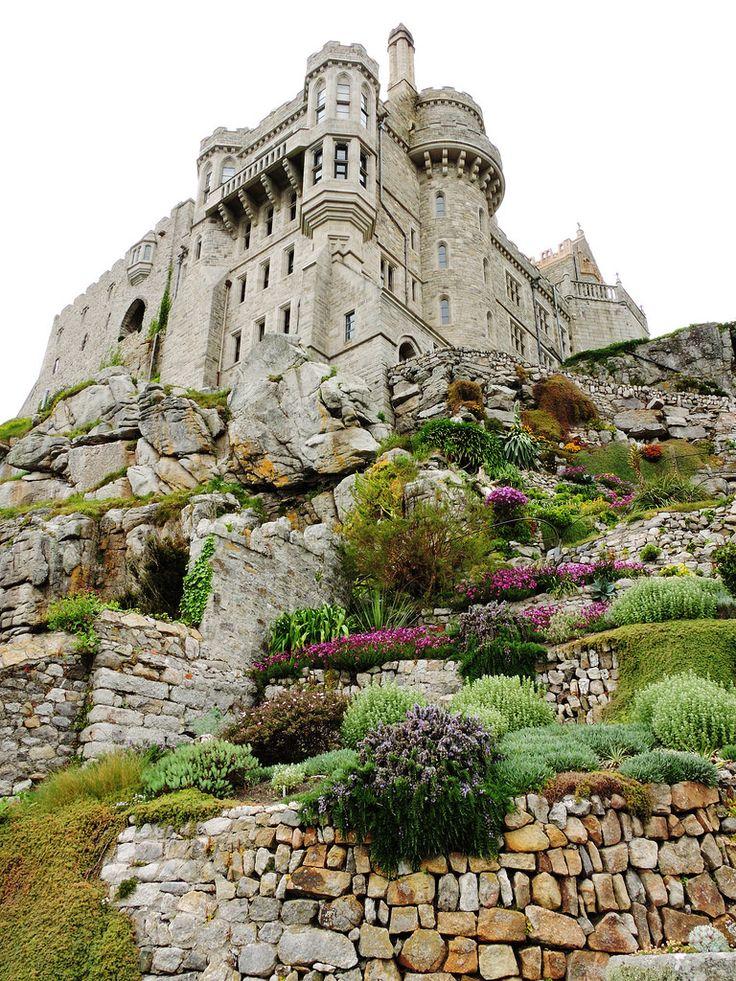 wanderthewood: St. Michael's Mount, Cornwall, England by DanRansley on Flickr