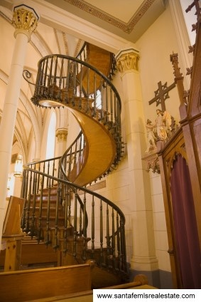Famous hanging staircase - Santa Fe.