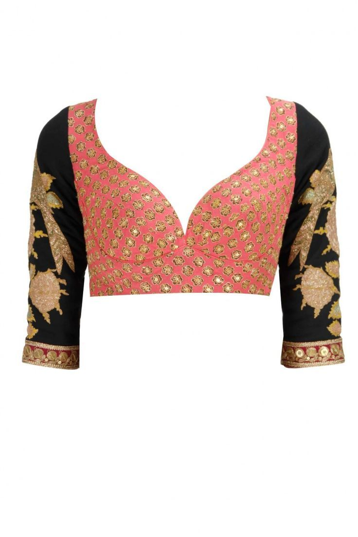 sequence work blouse | sareesdesigner.com