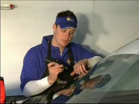 how to fix a chip in your windscreen