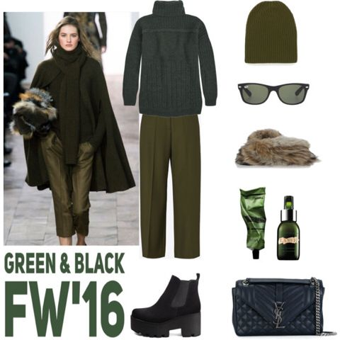 ➖GREEN & BLACK OUTFIT➖ With ANDREAS BOOTIE