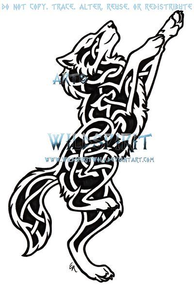 celtic wolf tattoo | Wolf Tattoo By Wildspiritwolf On Deviantart - Free Download Tattoo ...
