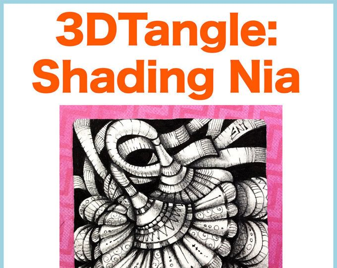 7 best 3dtangle overlapping zentangle images on pinterest doodles eni oken is an award winning artist with 30 years of experience writing about zentangle shading fantasy design and jewelry making fandeluxe Image collections