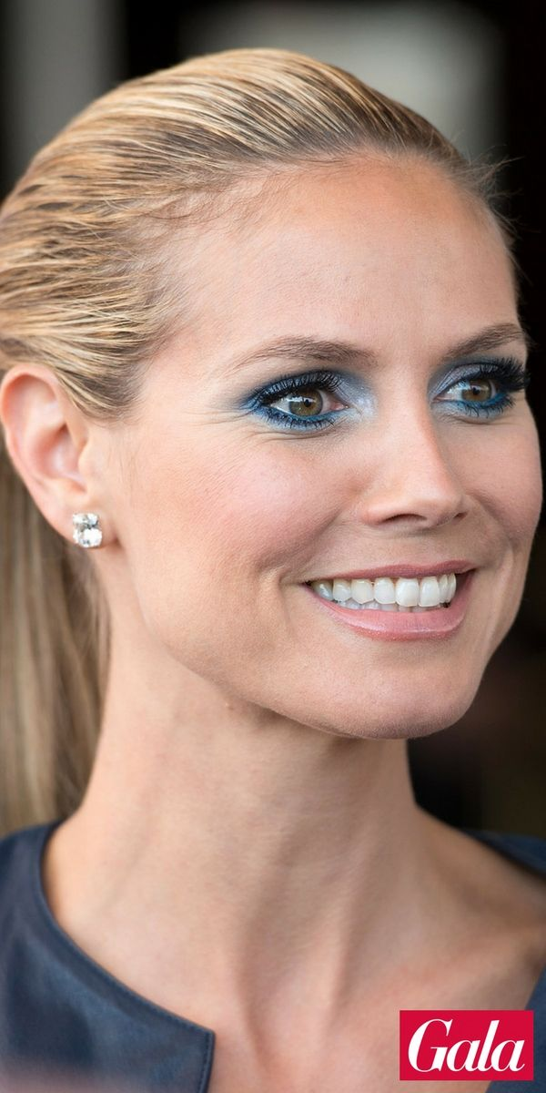 Heidi Klum Hat Kurze Haare Topmodel Heidi Klum Heidi Klum Blue