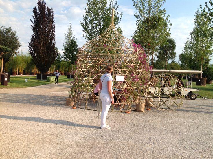 Triaxial weaving  Split Bamboo