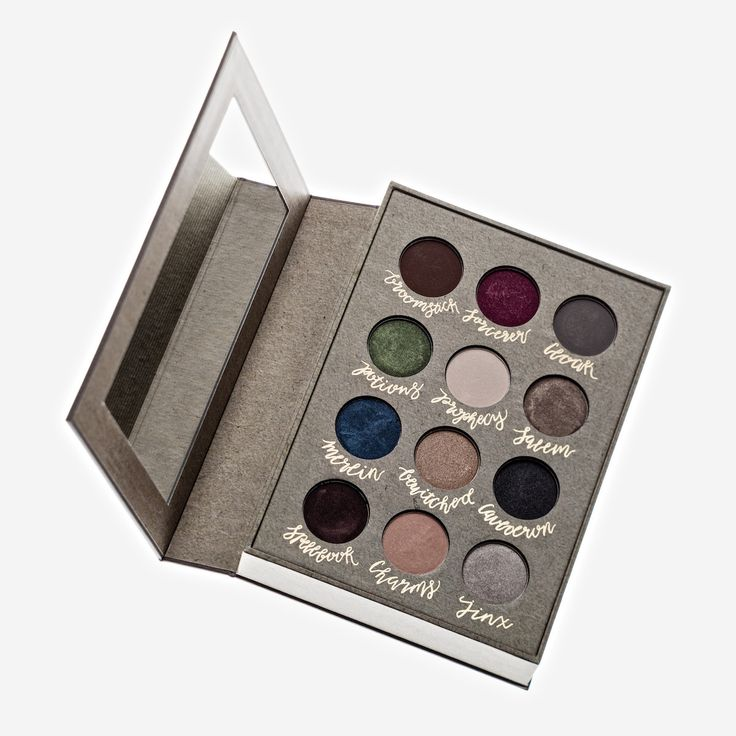 Authentic Storybook Cosmetics Wizardry and Witchcraft Eyeshadow Palette Book™