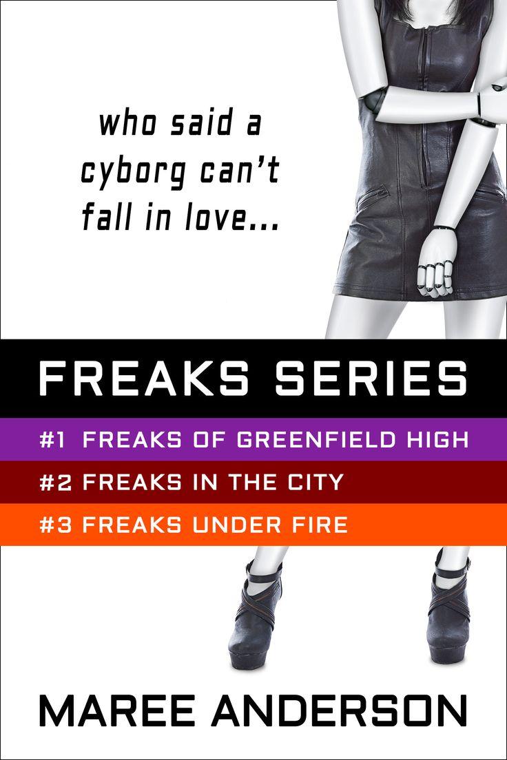 The Freaks Series eBook Bundle: Freaks of Greenfield High (Book 1), Freaks in the City (Book 2), Freaks Under Fire (Book 3). http://www.mareeanderson.com/books/freaks-series-bundle