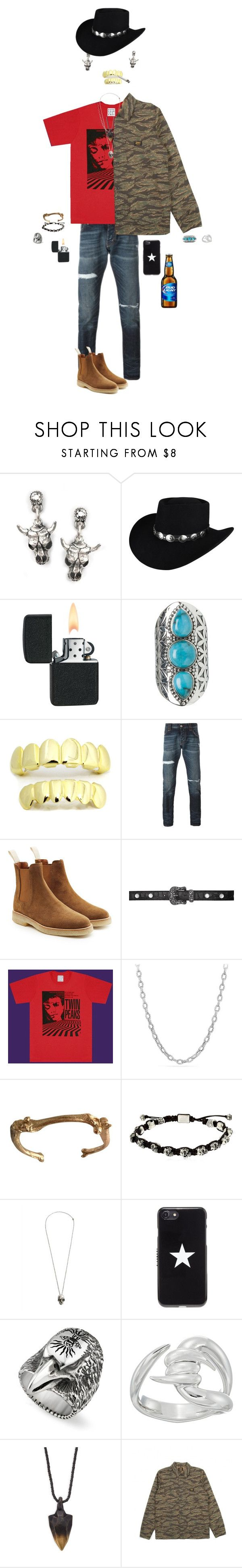 """""""Post Malone"""" by kevin-whitcanack on Polyvore featuring Sweet Romance, Bailey Western, Tribe, Philipp Plein, Common Projects, MM6 Maison Margiela, David Yurman, Cantini MC Firenze, Alexander McQueen and Givenchy"""