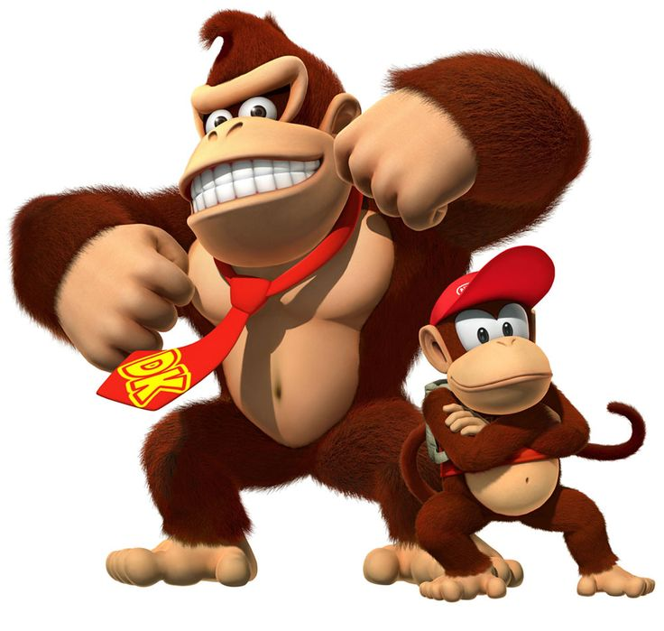 Donkey Kong & Diddy Kong / Brother and sister