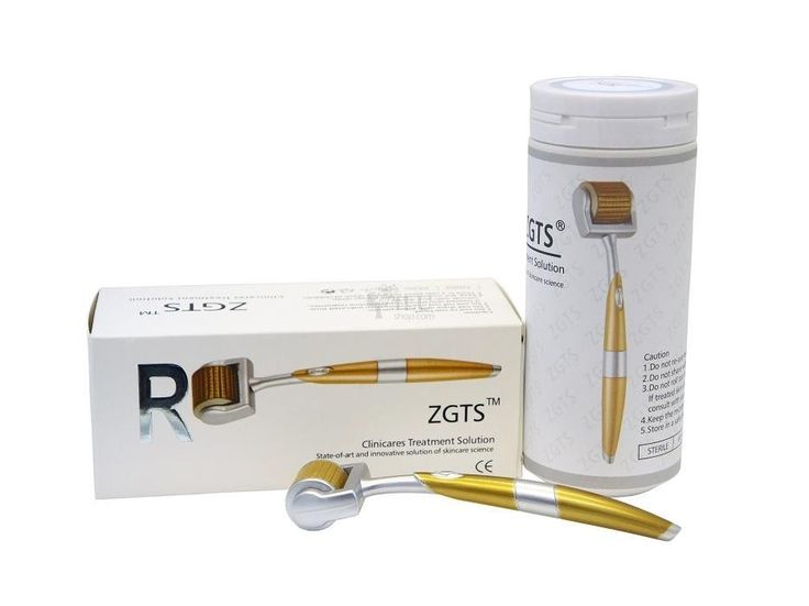 ZGTS Titanium Micro Derma Roller Needle  Acne Scar  Anti Ageing Skin Care 1.5mm #ZGTS