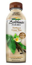 Bolthouse Farms Vanilla Chai Tea Love these drinks for on the go!