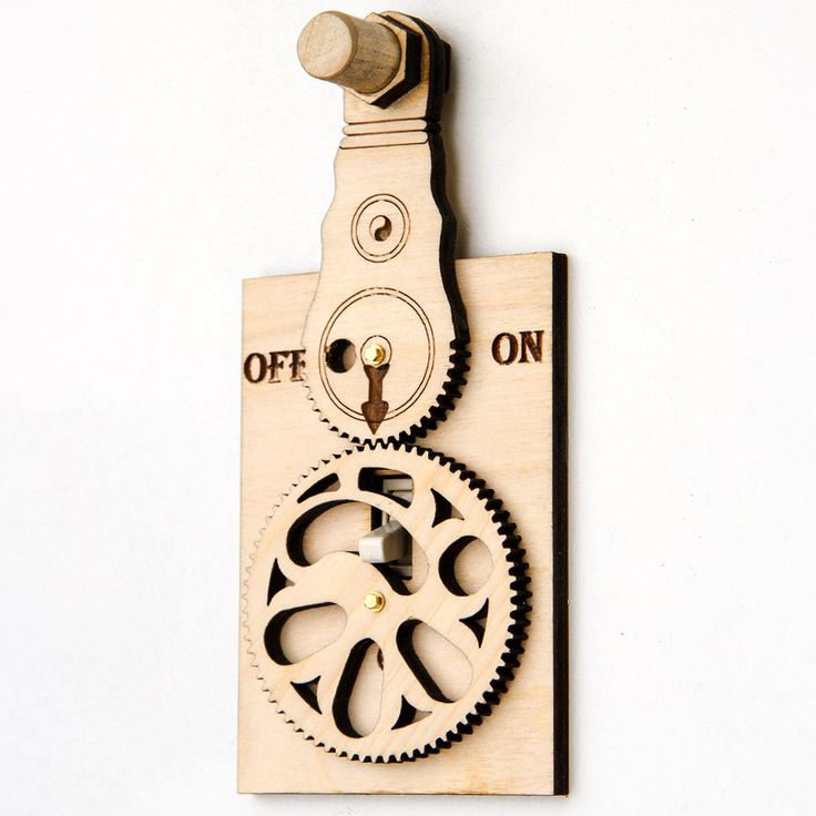 Pre-Assembled (Not a kit) These whimsical sets of gears translate a rotary action into a vertical motion. Real brass screws and washers speak of the quality of this quality piece from. This is the onl