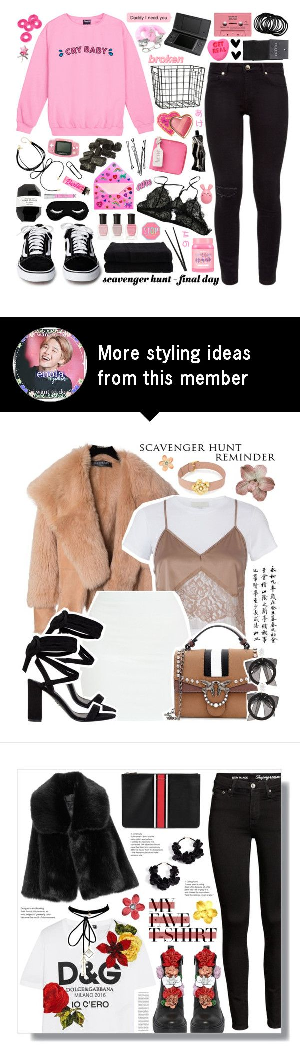 """scavenger hunt - final day"" by soft-bites on Polyvore featuring Ted Baker, H&M, SELECTED, Too Faced Cosmetics, Aesop, Cassia, Acne Studios, INC International Concepts, Lime Crime and Victoria's Secret"
