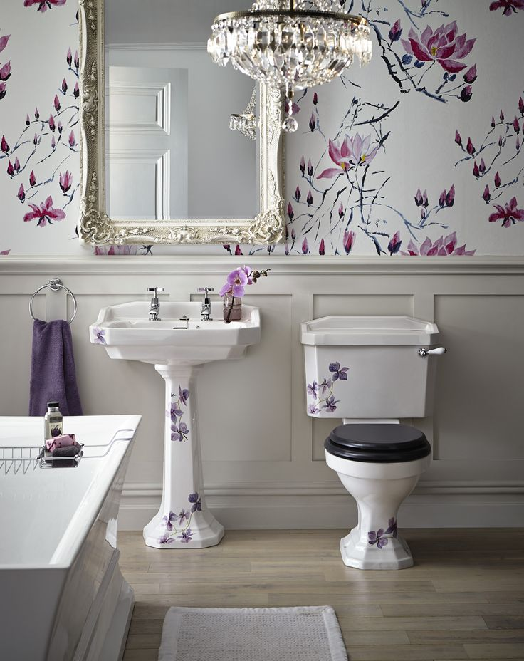 Heritage Bathrooms 30th Anniversary Ali Munro Limited Edition Orchid Range