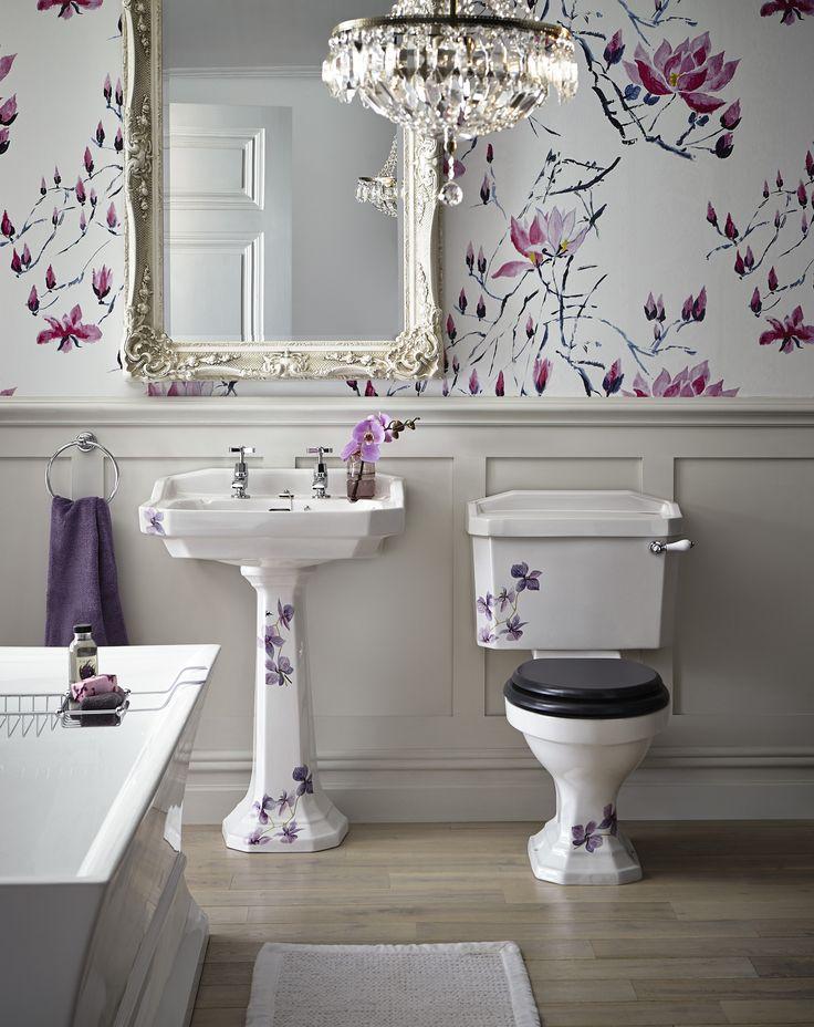 Heritage Bathrooms 30th Anniversary Ali Munro Limited Edition Orchid Range