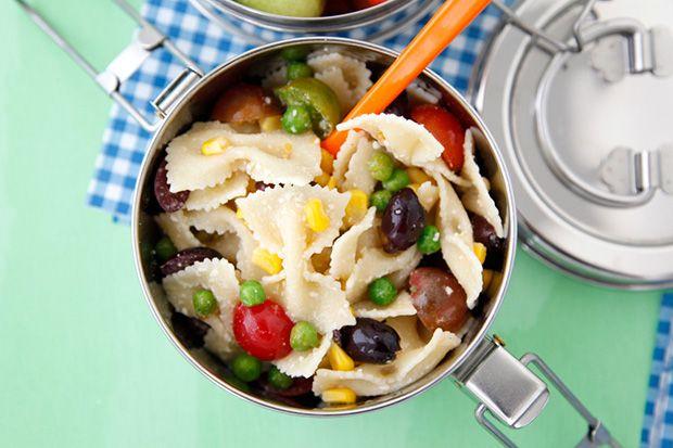 Summer Succotash Pasta Salad