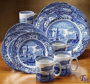 Spode Blue Italian...on my wish list!