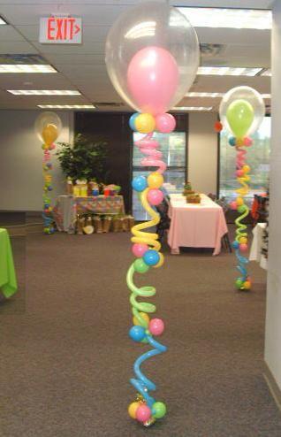 Decoração Balões Menina