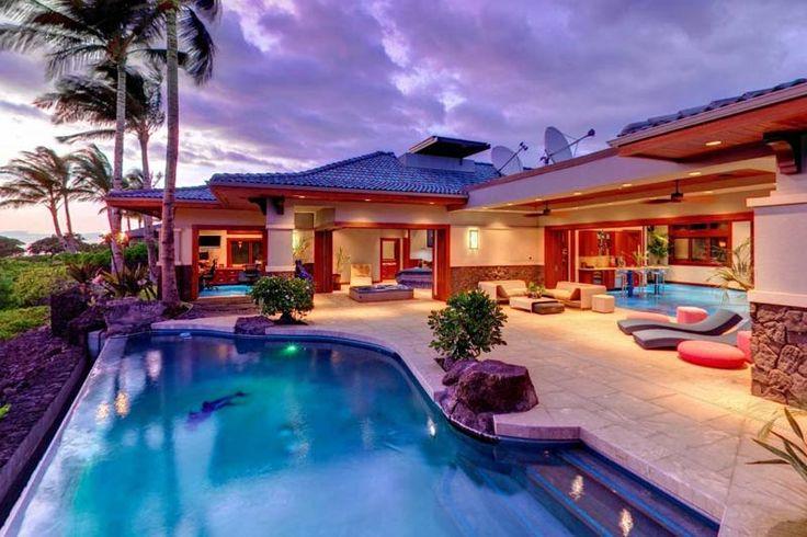 wow!: Beach House, Pool, Dream House, Waves, Place, Hawaii, Big Island