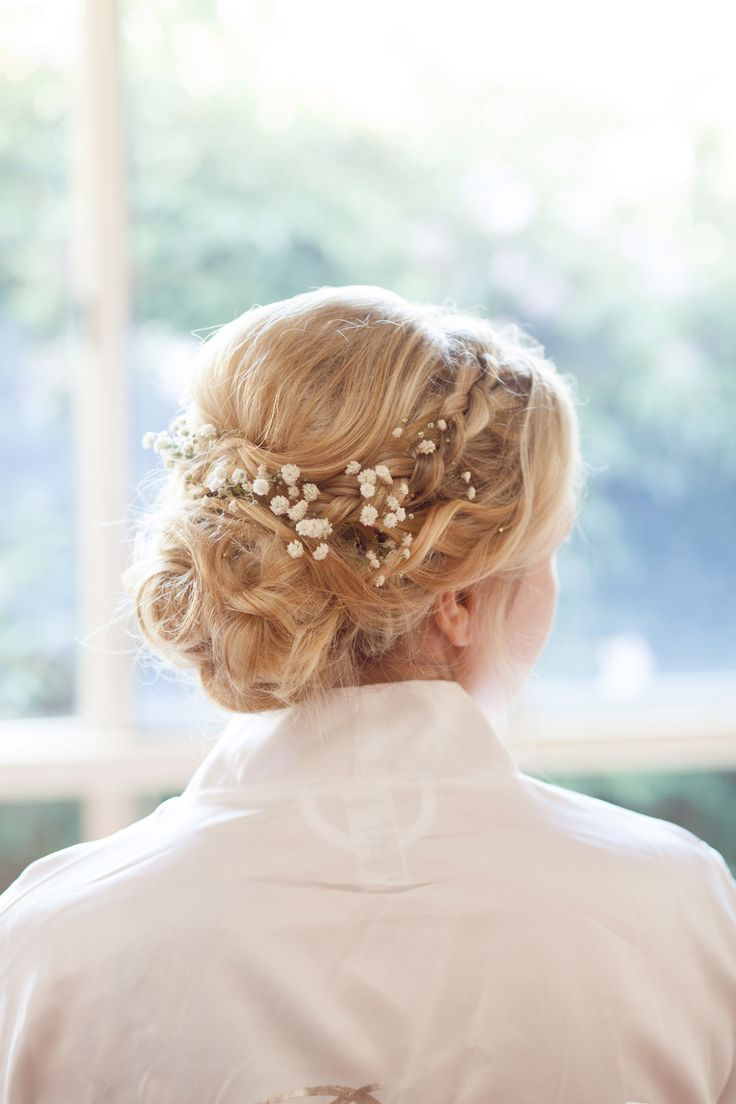 Bridal Boho Upstyle by The Obsession Collection