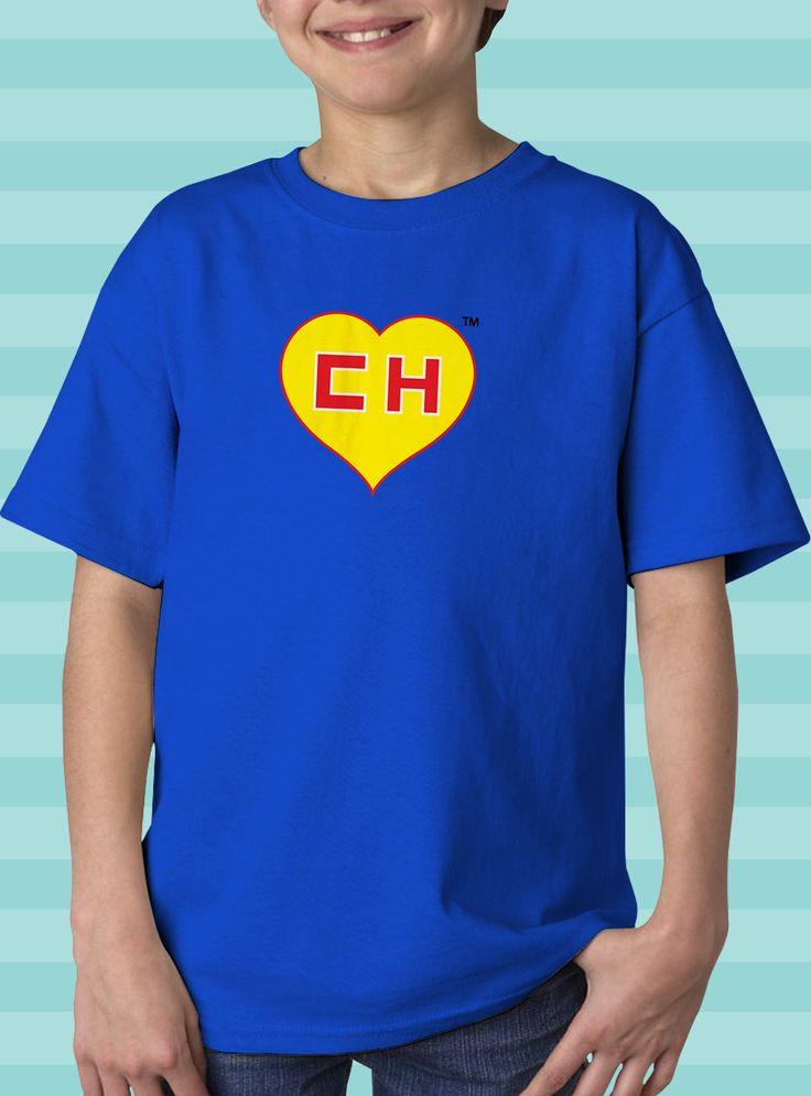 EL CHAPULIN COLORADO HEART T-SHIRT (KIDS)