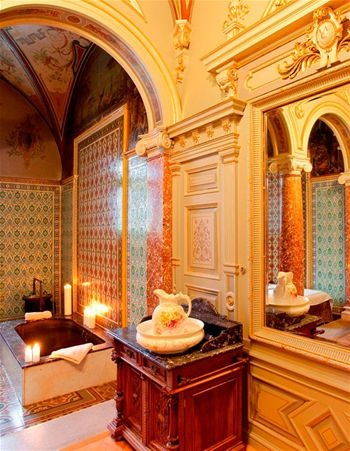 Royal Cabin of Edward VII in the Nové Lázně (New Spa) Hotel in Mariánské Lázně