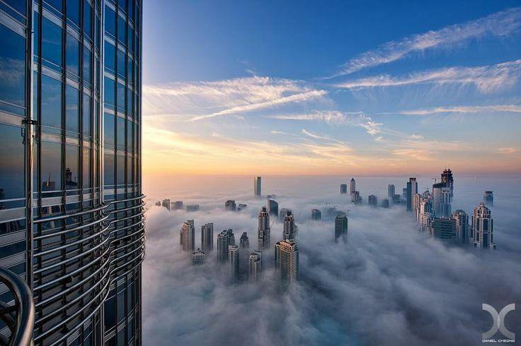 De la etajul 76 al Burj Khalifa