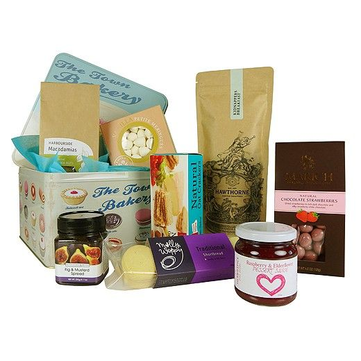 12 best gourmet gifts images on pinterest baby gifts baby vintage tin of treats a gourmet gift idea by bestow delivered in new zealand negle Image collections