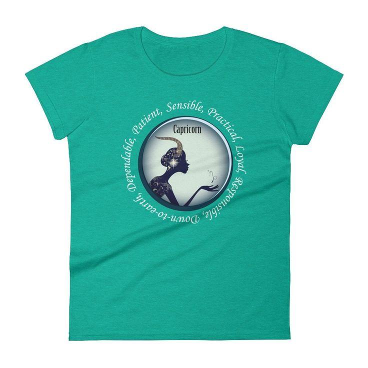 Capricorn Girl - Women's short sleeve t-shirt