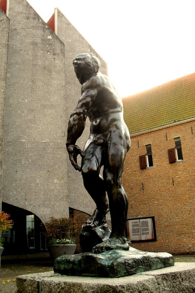 Adam (Auguste Rodin) Zwolle, Netherlands.