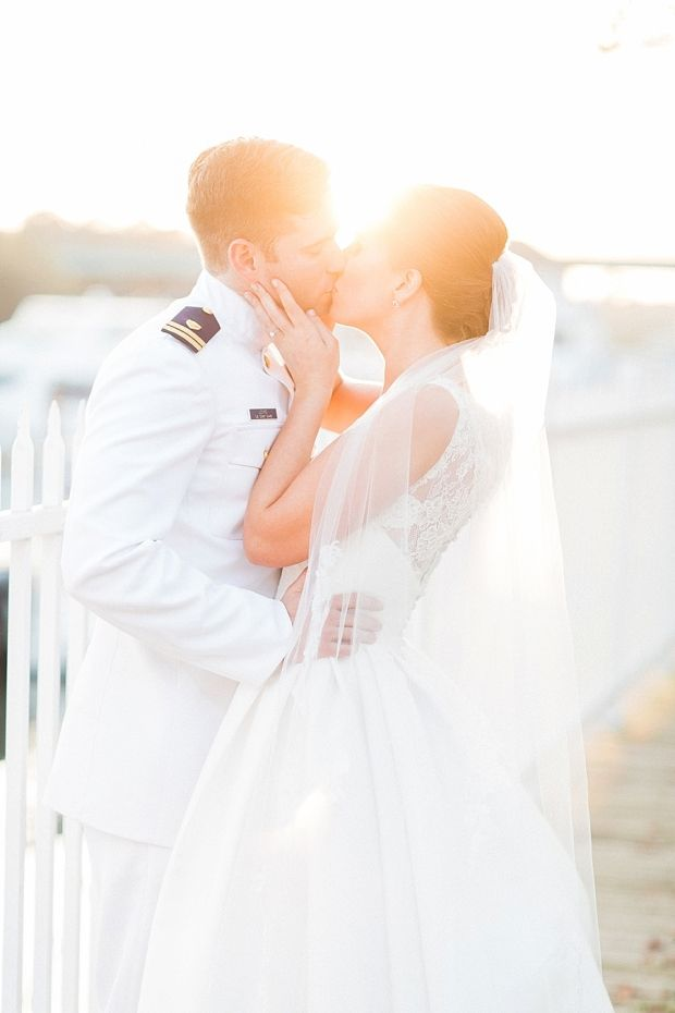 Virginia Coast Guard wedding | Abby Grace Photography