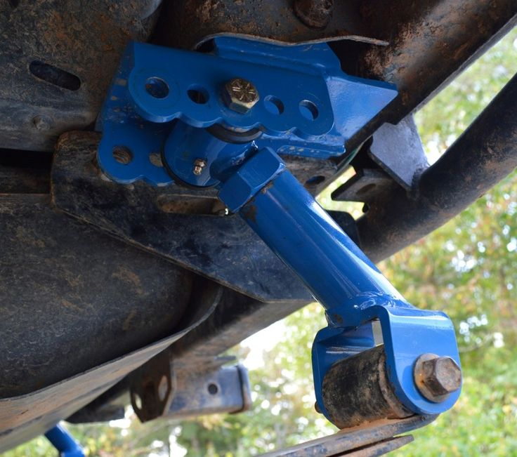 IronMan 4x4 Fab - Shackle Relocation Brackets : Adjustable Shackles
