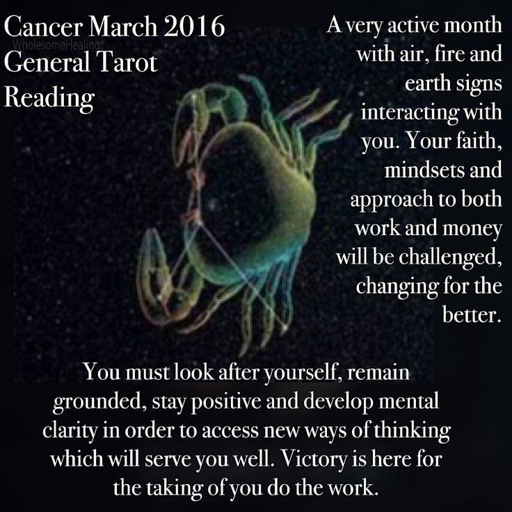 #Cancer prepare to be a Duracell bunny this month lol. If you aren't physically moving about more your phone is nonstop. Relationships on all fronts are important. People are coming in to help with #work, #love and #money.  For full #reading https://instagram.com/p/BCilLplTRv8/ #WholesomeHealing #psychic #spiritual #tarot #tarotcard #holistic #constellations #march #zodiac #help #guidance #divination #energy #stars #starsign #wellbeing #angels #astrology #eclipse #intuition