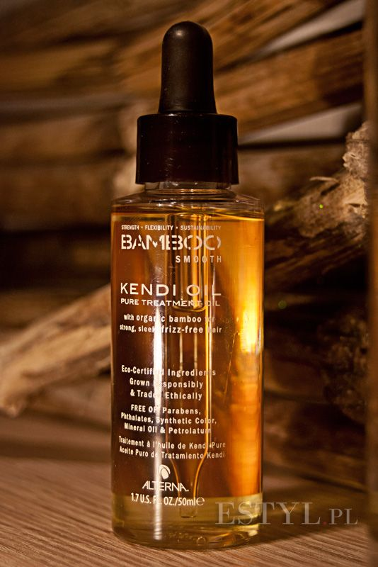 #Alterna Bamboo Smooth Kendi Oil w recenzji Kasi na kosmetycznym blogu dla Włosomaniaczek.