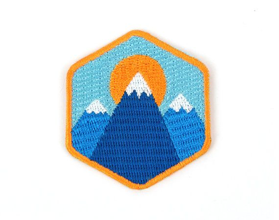 Are you a mountaineer expert? Do you know the names of all of the mountain ranges? Have you ever seen a mountain?  Then this patch is for you!!