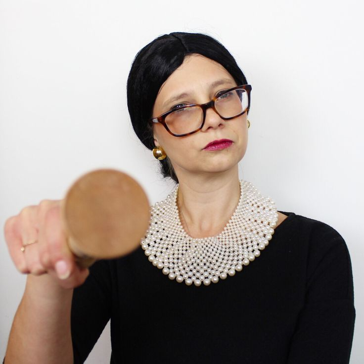 RBG Feminist Icon Halloween Costume