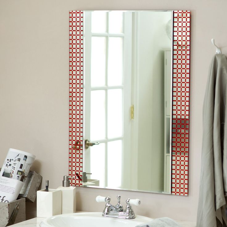 Best Photo Gallery Websites D cor Wonderland Cirque Frameless Wall Mirror x in The Cirque Frameless Mirror is a beautiful contemporary piece that will be a lovely addition to your