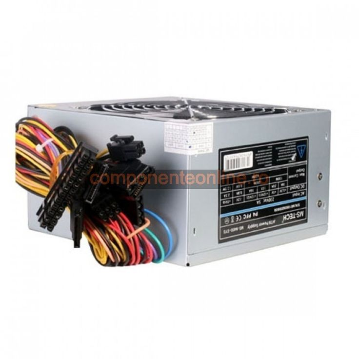Sursa PC 450W, ATX, MS-N450-SYS, MS-Tech - 328938