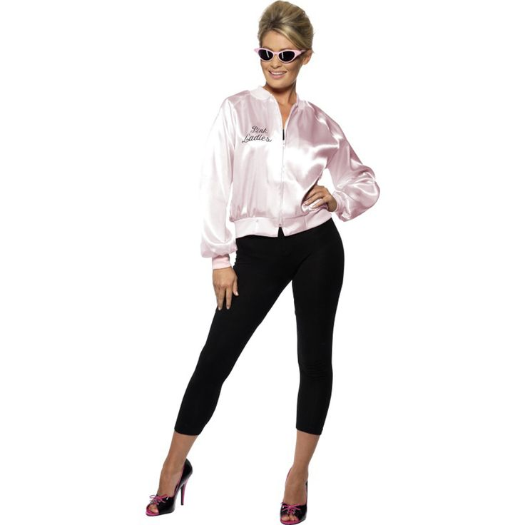 """Stand out as a classy pink lady from the classic film """"Grease"""""""