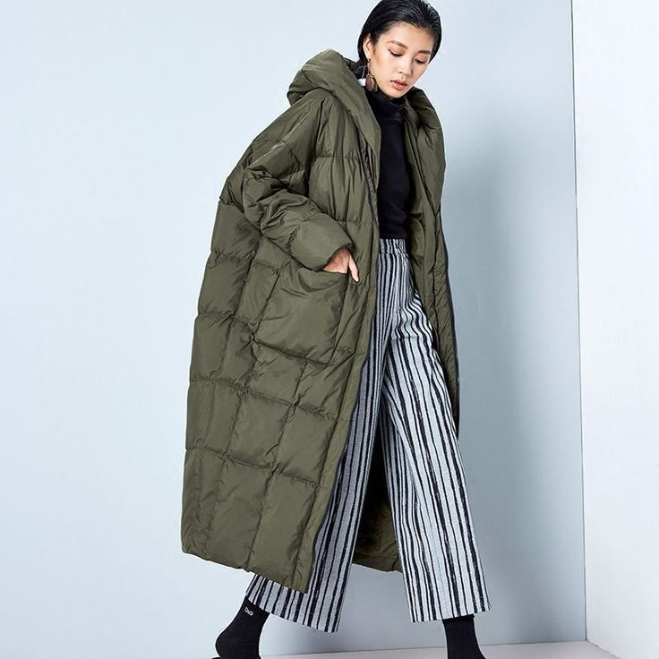 Find More Down & Parkas Information about BC042 New Arrival Winter 2016 women casual loose cocoon coat thick x long hooded white duck down jacket,High Quality jacket lightweight,China jacket patchwork Suppliers, Cheap jackets cheap from Irina's boutique on Aliexpress.com