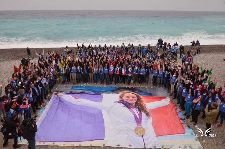 Rallye Aïcha des Gazelles 2015 - Les Gazelles rendent hommage à Camille Muffat