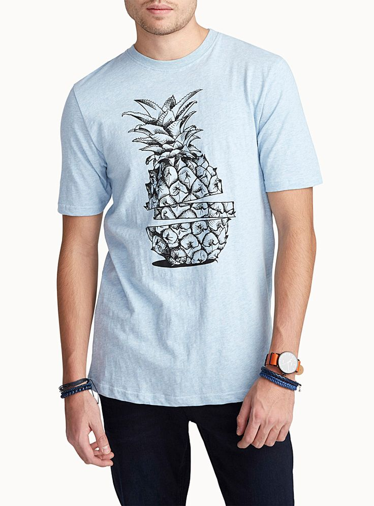 Exclusively from Le 31 for men     From our 100% organic cotton collection   A collection of playful design for fruit fanatics!    The model is wearing size medium
