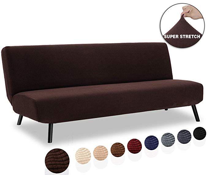 Tianshu Armless Sofa Cover Stretch
