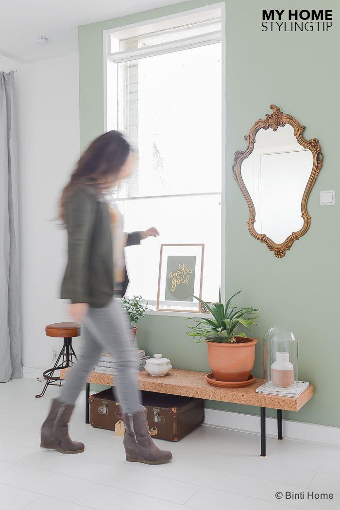 Een salontafel van kurk in mijn woonkamer | Binti Home blog : Interieurinspiratie, woonideeën en stylingtips